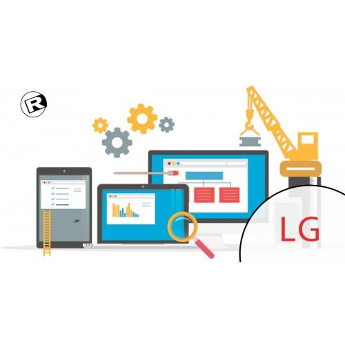 Reparación de Sitios Web -  LG